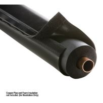 "E-FLEX GUARD 72""(6 ft) Length Fits over 5/8'',7/8'' tubing with 3/4'' wall Insulation Black"