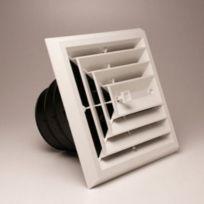 "Rectorseal - 81913 - MV3 8x8 3-Way Grille/Damper/Box 6, 7, 8"" collar"