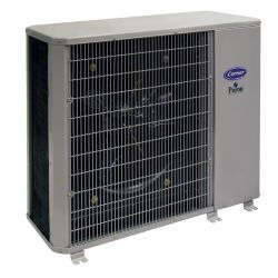Carrier® Performance™ - 1.5 Ton, 14 SEER, Residential Horizontal Air Conditioner Condensing Unit