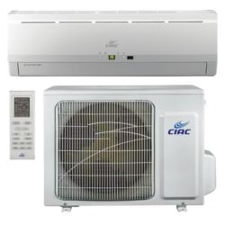 CIAC Inverter, Up to 15 SEER, 9,000 Btu, R410A, 60Hz