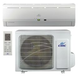 CIAC Inverter, Up to 15 SEER, 12,000 Btu, R410A, 60Hz