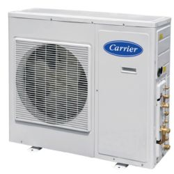 Carrier®  Performance™ Ductless 30000 Btu Heat Pump 4 Zone Inverter 208/230-1 (Matches 40GVM High Wall)