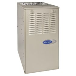 Carrier® Performance™ 80% AFUE 90,000 Btuh 2-Stage Variable Speed Multipoise Gas Furnace
