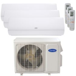 Carrier® Infinity 2 Ton 3 Zone Mini Split High Wall Heat Pump System R-410a 208-230V