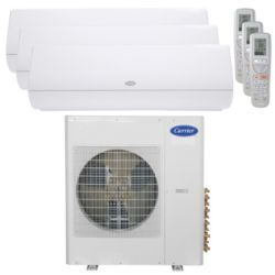 Carrier® Infinity 3 Ton 3 Zone Mini Split High Wall Heat Pump System R-410a 208-230V