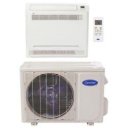 """Carrier® Performance 1 Ton Mini Split Floor Console Heat Pump System (1/4""""-1/2"""" line set) R-410a 208-230 VAC"""