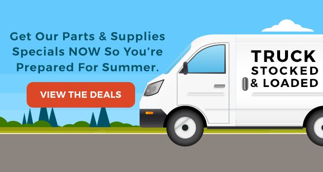 Save on Parts & Supplies