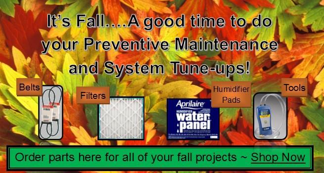 Fall Maintenance!
