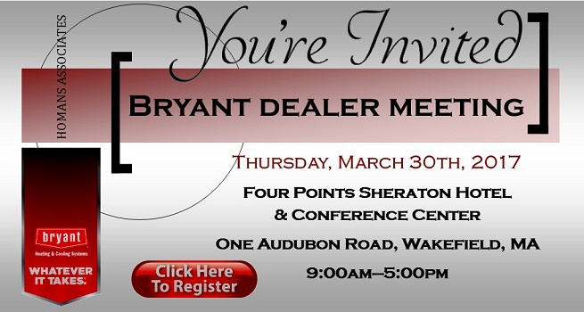 Bryant Dealer Meeting