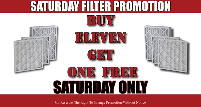 Saturday Promotion