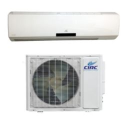 CIAC Hi Wall Systems 36K Btu Up to 22 SEER, R410A, 208-230V-60Hz, 1Ph