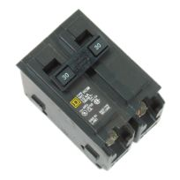 Homeline Circuit Breakers, Two Pole, 30 Amp, Square D