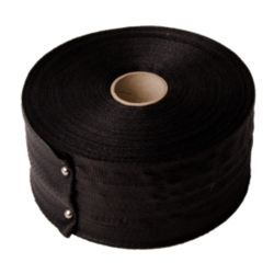"Duct Strap, Woven, 3"" X 100 Yards, Black"