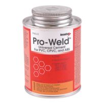DiversiTech® - PWU-8  Pro-Weld 8 ounce Brush-Top Container  Universal  PVC/ABS/CPVC Cement