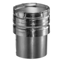 Aluminum Draft Hood Connector with 4 Inch Inner Diameter