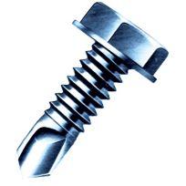 "Duro Dyne 14190 - Pro Point Self-Drilling Screw for Heavy Gauge, 10"" X 3/4"", 5/16"" Head"