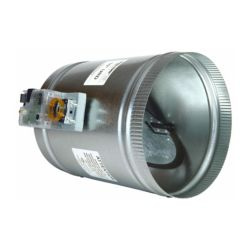 "EWC Controls - 14"" Round Motorized Damper"