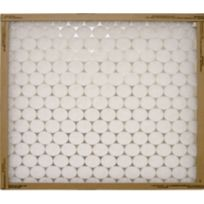 """Flanders® 14"""" x 24"""" x 1"""" Flat Panel Heavy Duty Synthetic Air Filter"""