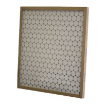 "Glasfloss® 15"" x 16"" x 1"" Fiberglass Heavy Duty Disposable Panel Filter with Metal Grids"