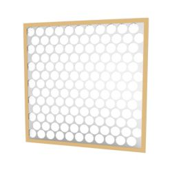 """Glasfloss® 16"""" x 25"""" x 2""""  Fiberglass Heavy Duty Disposable Panel Filter with Metal Grids"""