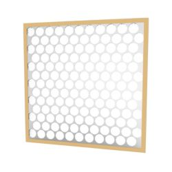 "Glasfloss® 20"" x 20"" x 1""  Fiberglass Heavy Duty Disposable Panel Filter with Metal Grids"