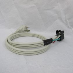 Gree - ETAC II Power Cord for Universal Heater - Produces 3.45 KW heat - 265 Volt 20 Amp