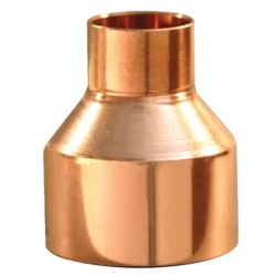 "7/8"" x 3/4"" Reducing Coupling with Roll Stop C x C"