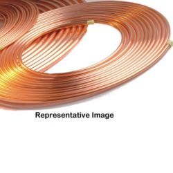 "Hailiang - V-HLR-050-0375  3/8"" x 50' Refrigeration Copper Coil"