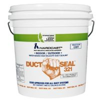 DS-321 Solvent Based Duct Sealant Grey, 1 Gallon