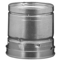 "4"" x 4' Round Pipe, Type B Gas Vent"