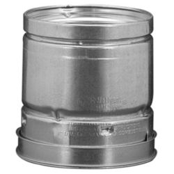 "Hart & Cooley - 4"" x 4' Round Pipe, Type B Gas Vent"