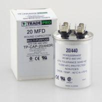 Trade Pro 20 MFD 440 Volt Round Run Capacitor