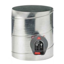 "Honeywell Constant Pressure Regulating Bypass Damper, 12"" Round"