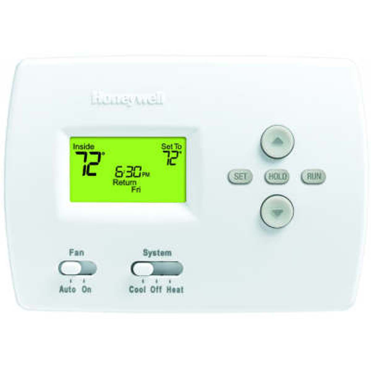 Heat Cool Honeywell Th4110d1007 Digital Programmable Thermostats Carrier Hvac