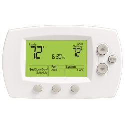 Honeywell - TH6110D1005 FocusPRO 6000 Conventional/Heat Pump Programmable Thermostat 1H/1C