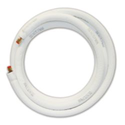 "1/4""x1/2""x1/2"", 25' EZ Pull Ductless Lineset, 14/4 Stranded & Shielded 600V Cu Wire;  Includes Communication Wire"