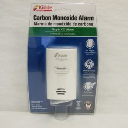 Kidde Home Safety - 21025759 - Carbon Monoxide Alarm AC Powered, Plug-In with Battery Backup KN-COB-DP2