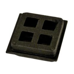 "4"" x 4""  3/4"" Isopad Anti Vibration Pad"