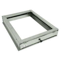 "Accommodator 14"" x 20"" Filter Housing, 5 3/4"" height handles 1"", 2"" or 4"" Filter"