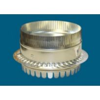 """8"""" #500DBH Metal DuctBoard Starting Collar with Holes"""