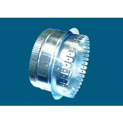"""7"""" #507 1""""/1 1/2"""" Ductboard Collar with Holes"""