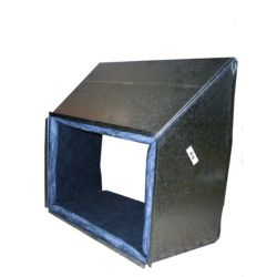 3X4X3 10' Line Set Cover with Cap