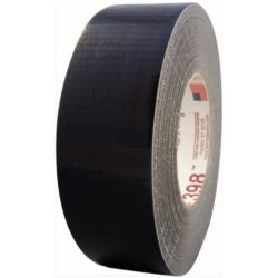 "Nashua 1086201 398 2"" x 60 yd. Black Industrial Duct Tape"