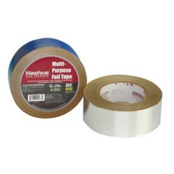 "Nashua 1087627 322 2"" x 50 yd. General Purpose Plain Foil Tape"