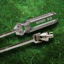 Rectorseal - 86660 - Novent Screwdriver Key R22/Universal Unlocks Green/Silver Caps