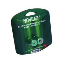"Rectorseal - 86662 - Novent 1/4"" R22 Green Locking Caps - 2 Pk"