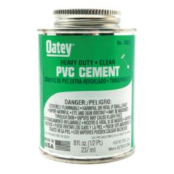 DiversiTech® - 530-30863  Oatey® Heavy Duty PVC Cement - 8 ounce