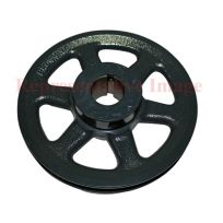 "Totaline® - P461-3706 Pulley 5"", 7/8"" Bore, 3.4""-4.4"" Pitch Dia."