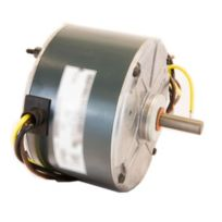 Factory Authorized Part - HC33GE233 Condenser Motor 1/10 HP 208/230 V 0.75 Amp 1100 RPM