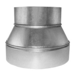 "10"" x 8"" Tapered Reducer, No Crimp"